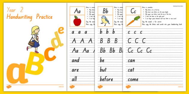 New Zealand Handwriting Activity Sheets, worksheet