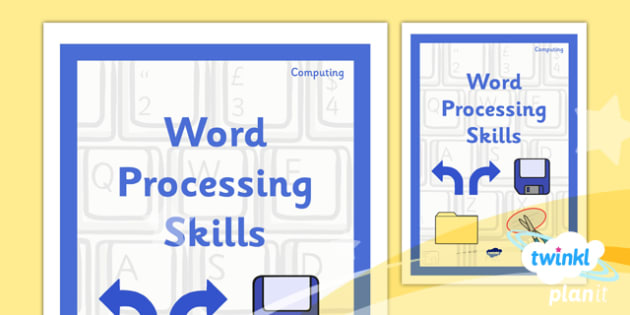 Computing: Microsoft Word Skills Year 3 Unit Book Cover