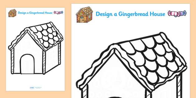 Design Your Own Gingerbread House Ginger Bread Design Art