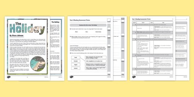 Year 6 Reading Assessment Fiction Term 3 - test, sats, summative, diagnostic, practice, sample