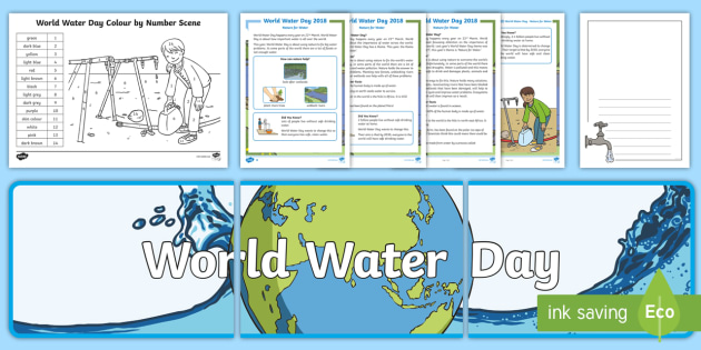 Ks1 World Water Day 2018 Nature For Water Resource Pack