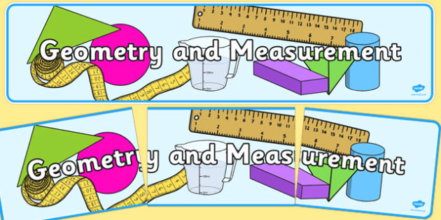 Geometry and Measurement Display Banner NZ - new zealand, display banner, display, banner
