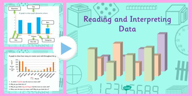 Year 4 Interpreting Data Task Setter PowerPoint - Australia, maths, data, ppt, powerpoints, mathematics