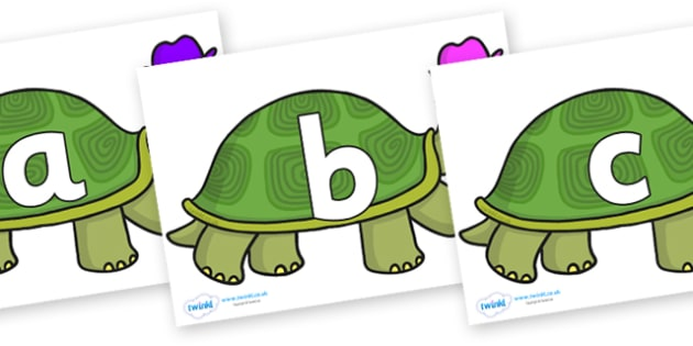 Phoneme Set on Tortoise - Phoneme set, phonemes, phoneme, Letters and Sounds, DfES, display, Phase 1, Phase 2, Phase 3, Phase 5, Foundation, Literacy