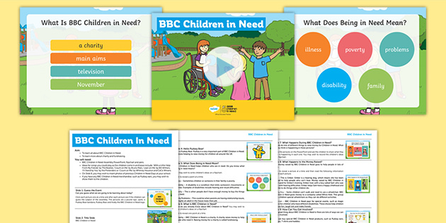 KS1 BBC Children in Need Assembly Pack