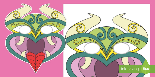 Taniwha Role Play Masks