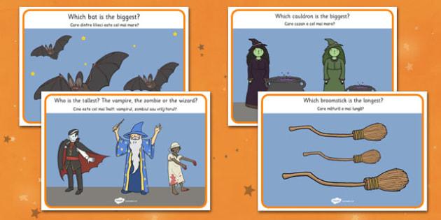 Halloween Activity Worksheets Romanian Translation - romanian, halloween, hallowe'en, activity, worksheets