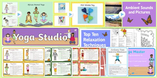 KS1 National Stress Awareness Day Resource Pack-Australia