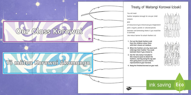 Collaborative Teaching Nz ~ Matariki korowai cloak collaborative art activity