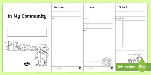 australia in my community activity booklet australia local. Black Bedroom Furniture Sets. Home Design Ideas