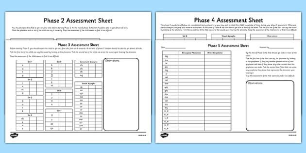 Letters And Sounds Pdf Assessment And Review Pack