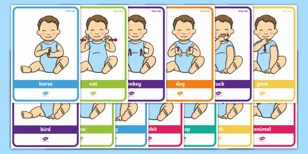 baby sign language poster pack animal signs baby sign sign language rh twinkl co uk