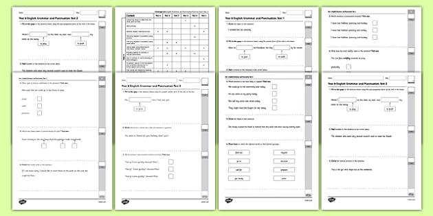 year 7 english test pdf