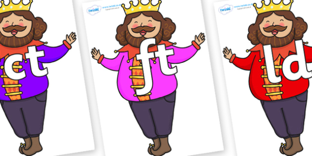 Final Letter Blends on The Emperors New Clothes Emperor - Final Letters, final letter, letter blend, letter blends, consonant, consonants, digraph, trigraph, literacy, alphabet, letters, foundation stage literacy