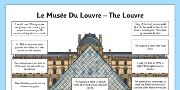 The Louvre Fact File Cfe Second Level Landmarks