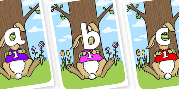 Phoneme Set on Sleeping Hare - Phoneme set, phonemes, phoneme, Letters and Sounds, DfES, display, Phase 1, Phase 2, Phase 3, Phase 5, Foundation, Literacy