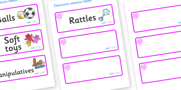 Pink Themed Editable Additional Resource Labels - Themed Label template, Resource Label, Name Labels, Editable Labels, Drawer Labels, KS1 Labels, Foundation Labels, Foundation Stage Labels, Teaching Labels, Resource Labels, Tray Labels, Printable lab