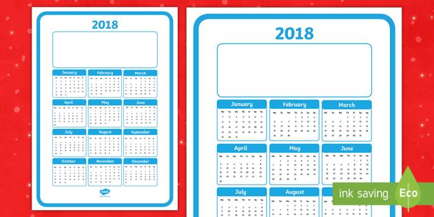 Calendar Ideas Twinkl : Christmas gift calendar poster
