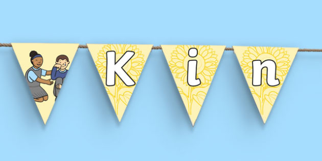 Kindness Day Display Bunting