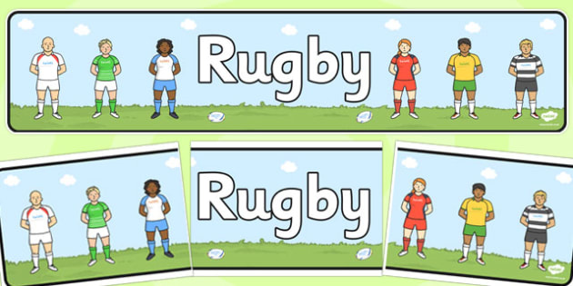 Rugby Display Banner - rugby, display banner, display, banner