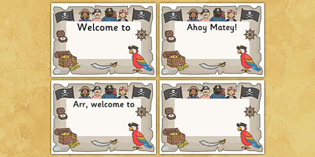 Pirate themed editable class welcome signs pirates pirate pirate themed editable class welcome signs pirates pirate themed welcome signs pirate themed toneelgroepblik Image collections
