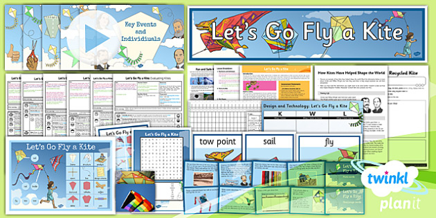 D&T: Let's Go Fly a Kite LKS2 Unit Pack