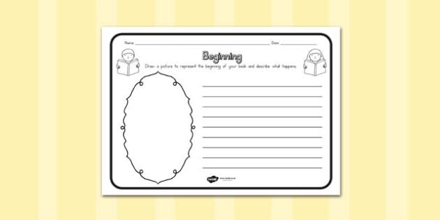 Beginning Comprehension Worksheet - australia, beginning, sheet