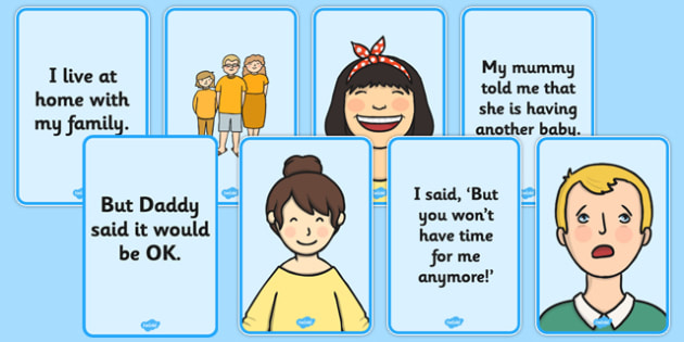 Social Situation: New Sibling - social story, new sibling, social, story, new, sibling