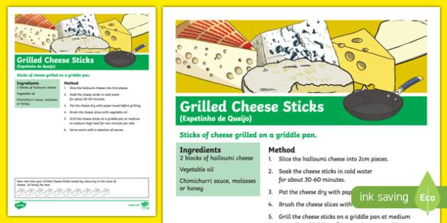 Australia Rio Paralympics 2016 Grilled Cheese Sticks Recipe-Australia
