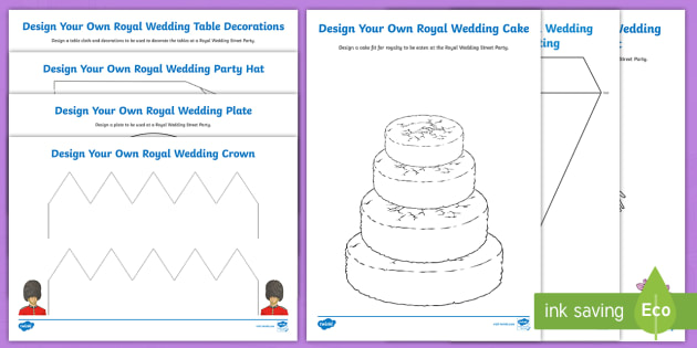 New Ks2 The Royal Wedding 2018 Street Party Planning Activity Pack