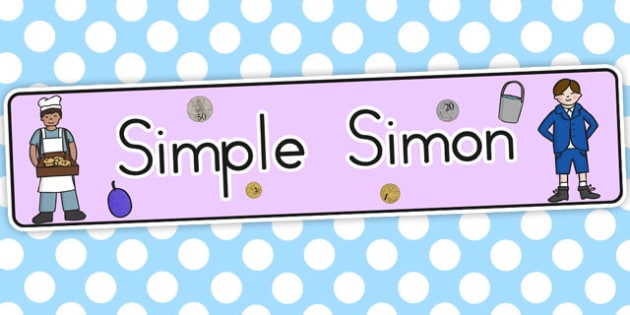 Simple Simon Display Banner - australia, display, banner, simon