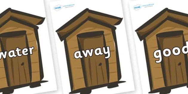 Next 200 Common Words on Sheds - Next 200 Common Words on  - DfES Letters and Sounds, Letters and Sounds, Letters and sounds words, Common words, 200 common words