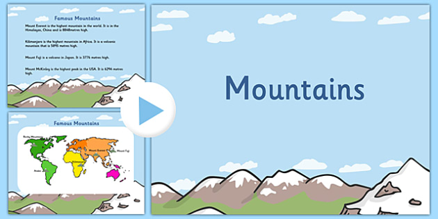 Mountains powerpoint mountains mountains powerpoint mountains powerpoint mountains mountains powerpoint geography powerpoint information about mountains mountains gumiabroncs Images