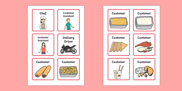 Chinese Takeaway Role Play Badges - chinese takeaway, role play, chinese takeaway badges, chinese takeaway role play, chinese takeaway roleplay badge