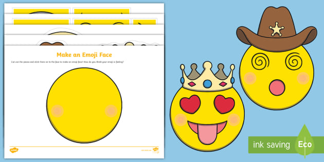 Make An Emoji Face Pre Primary Teaching Resources