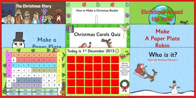 Christmas PowerPoint Resource Pack - christmas, powerpoint, xmas
