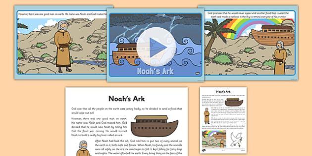Noahs Ark Story PowerPoint - powerpoints, christianity, religion