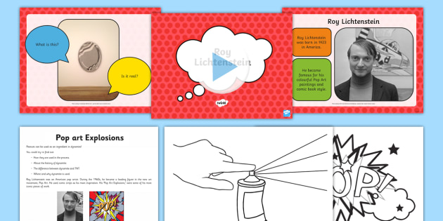 Pop Art Lesson Ideas Ks2