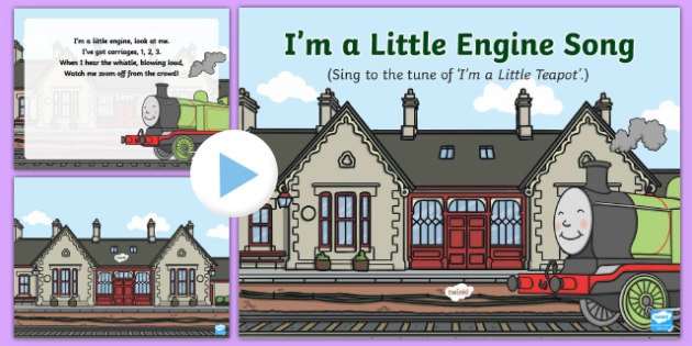 I'm a Little Engine Song PowerPoint