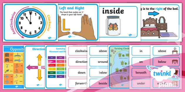PlanIt Maths Y1 Position and Direction Display Pack