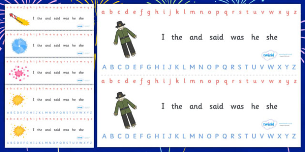 Alphabet Strips (Fireworks / Bonfire Night) - Alphabet, Learning letters, Writing aid, Writing Area, Guy, Autumn, firework, bang, crackle, woosh, rocket, sparkler, catherine wheel, screech, whirl, fire, bonfire, leaves, gloves