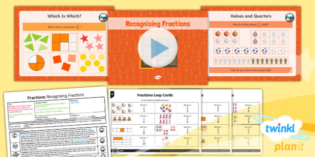 PlanIt Maths Y3 Fractions Lesson Pack Recognise Fractions of a Set of Objects