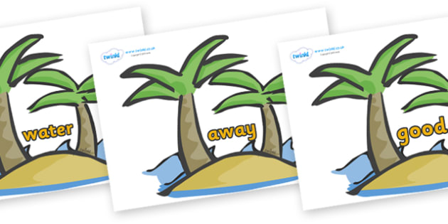 Next 200 Common Words on Palm Trees - Next 200 Common Words on  - DfES Letters and Sounds, Letters and Sounds, Letters and sounds words, Common words, 200 common words
