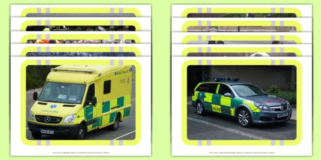 Paramedic Display Photos - Paramedics, ambulance, 999, emergency, rescue, help