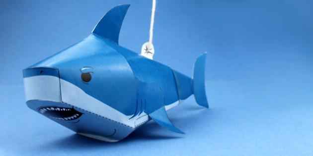 paper craft shark under the sea crafts craft activities paper craft shark under the sea crafts craft activities fine motor