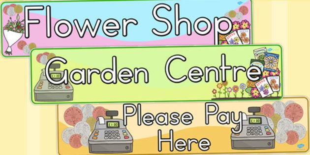 Garden Centre Display Banners - australia, garden centre, display