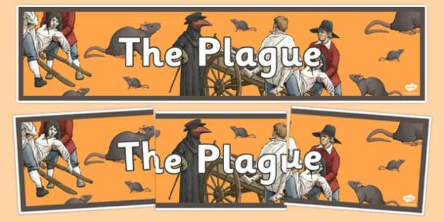 The Plague Display Banner - the plague, display, banner, display banner, plague banner, banner for display, plague header, header for display