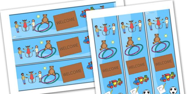 Welcome Display Banner - welcome, display banner, welcome banner, display banner, classroom banner, display header, themed banner, welcome header