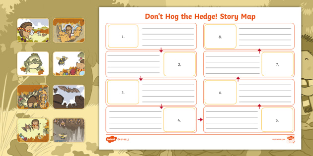 Stories Writing Frames and Worksheets Primary - Page 1