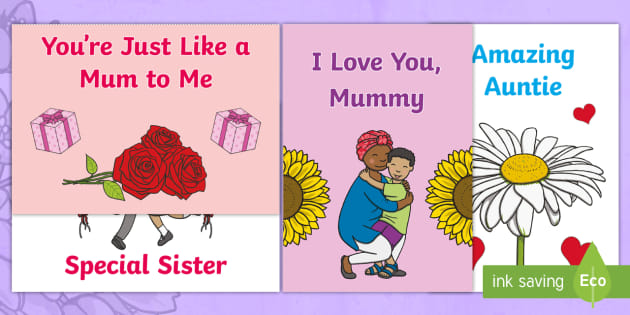 Astounding Beautiful Mothers Day Cards For Mother Figures Funny Birthday Cards Online Fluifree Goldxyz